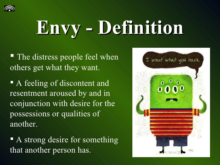 Definition of Envy