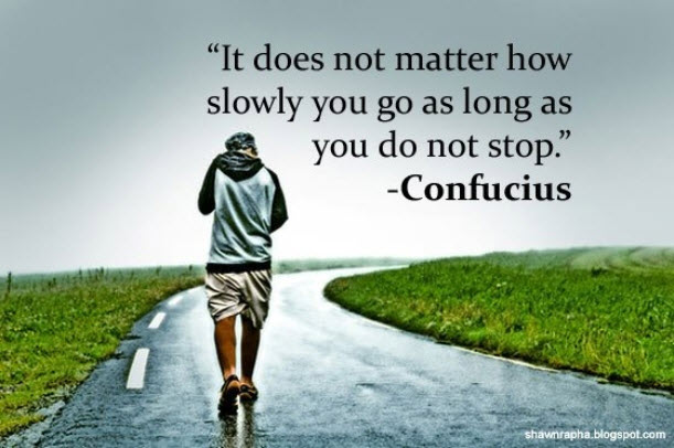 It Does Not Matter How Slow